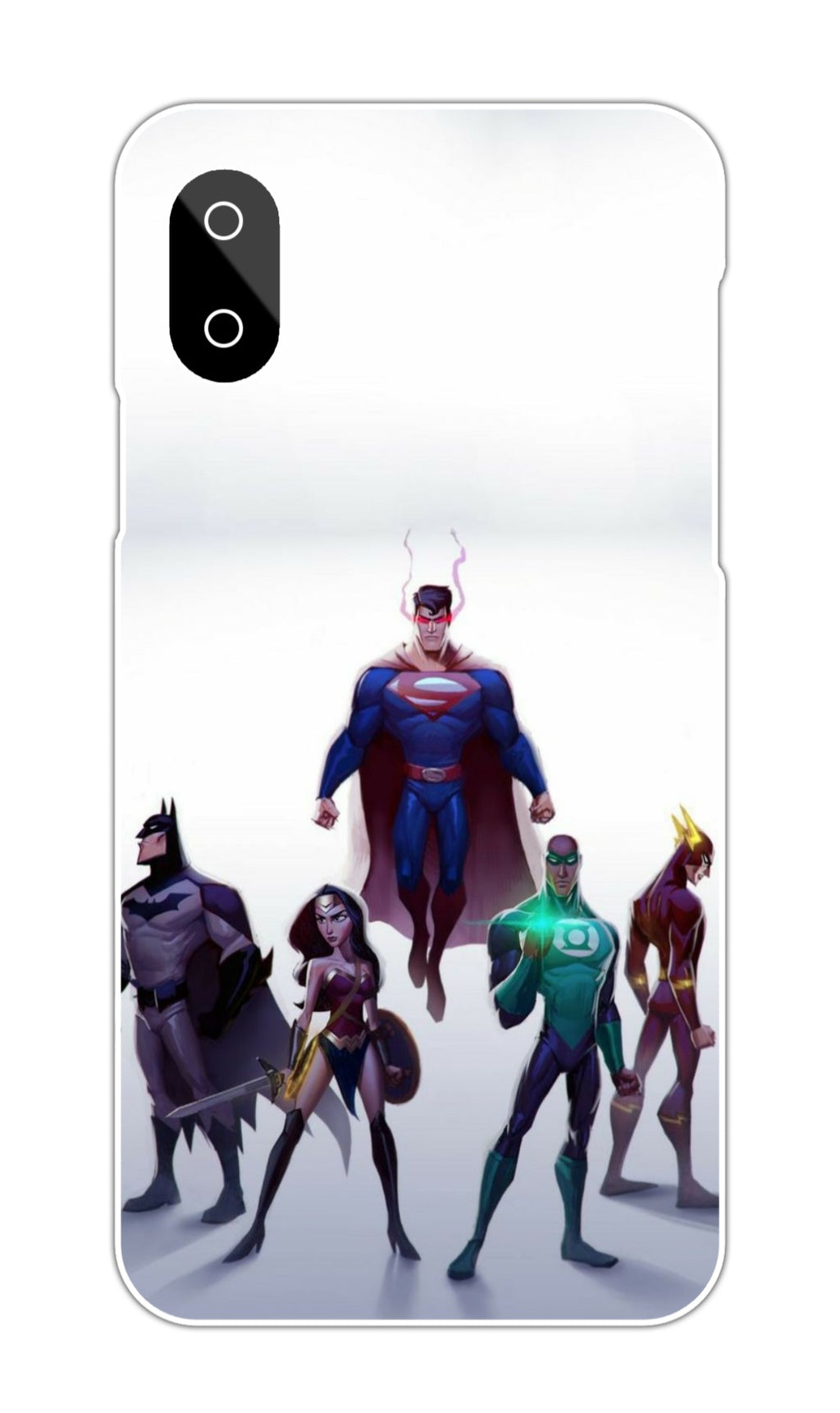 DC HEROES DESIGN CASE