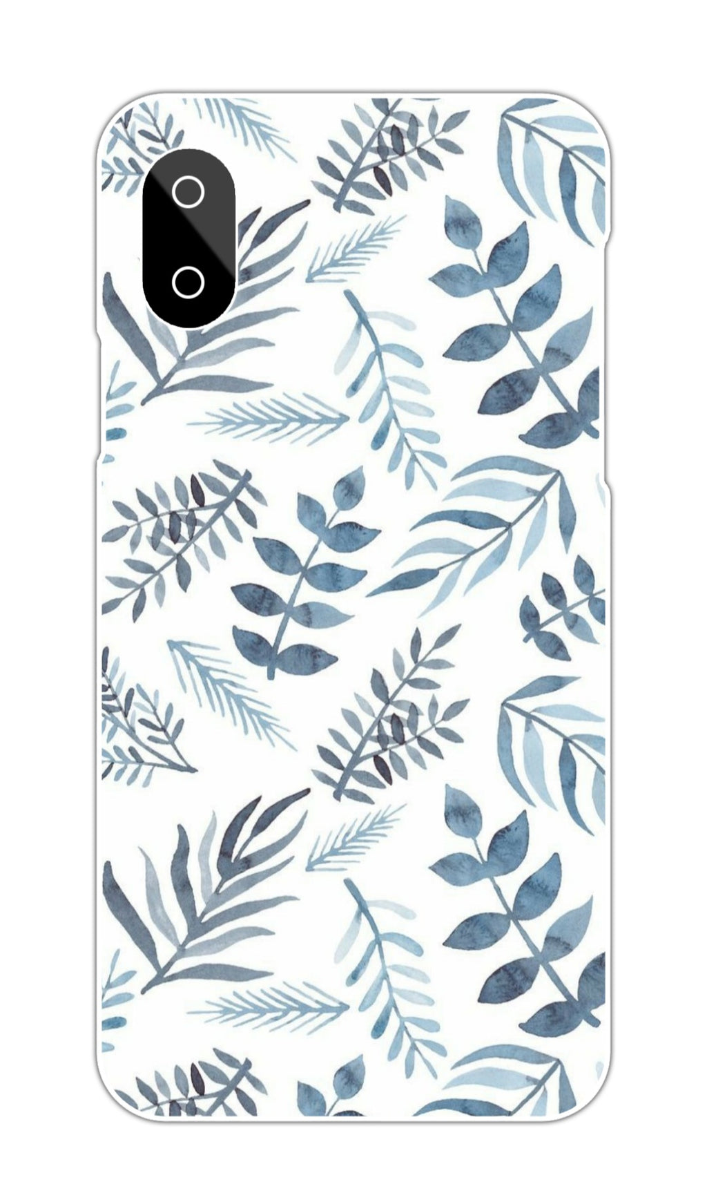 WHITE BACKGROUND LEAVES CASE
