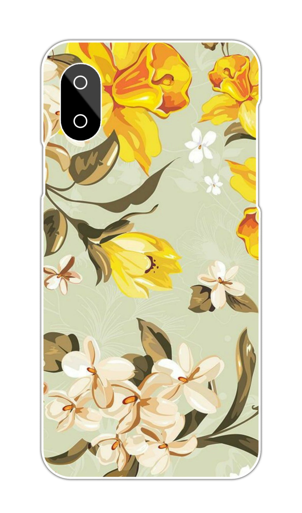 YELLOW FLORAL CASE