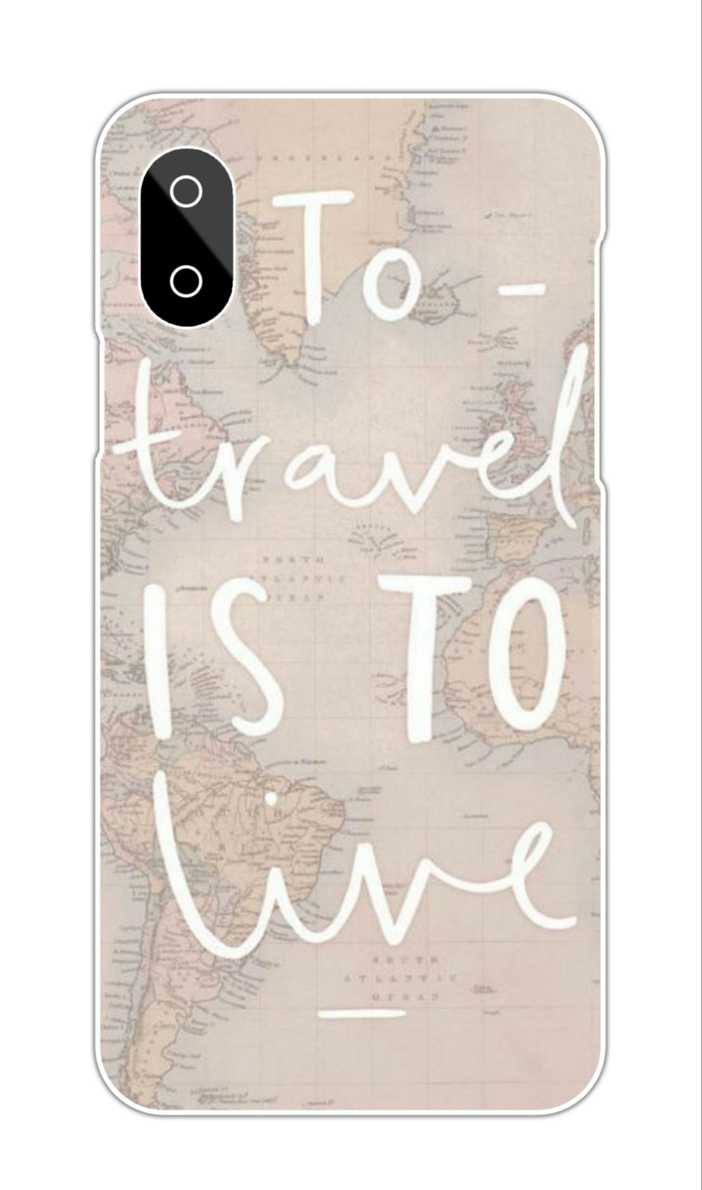 TO TRAVEL IS TO LEAVE QUOTE CASE