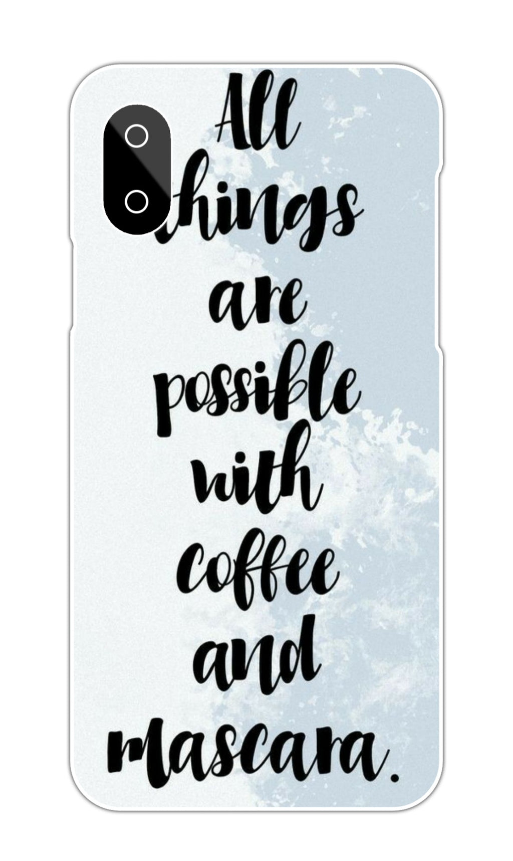 COFFEE AND QUOTE CASE