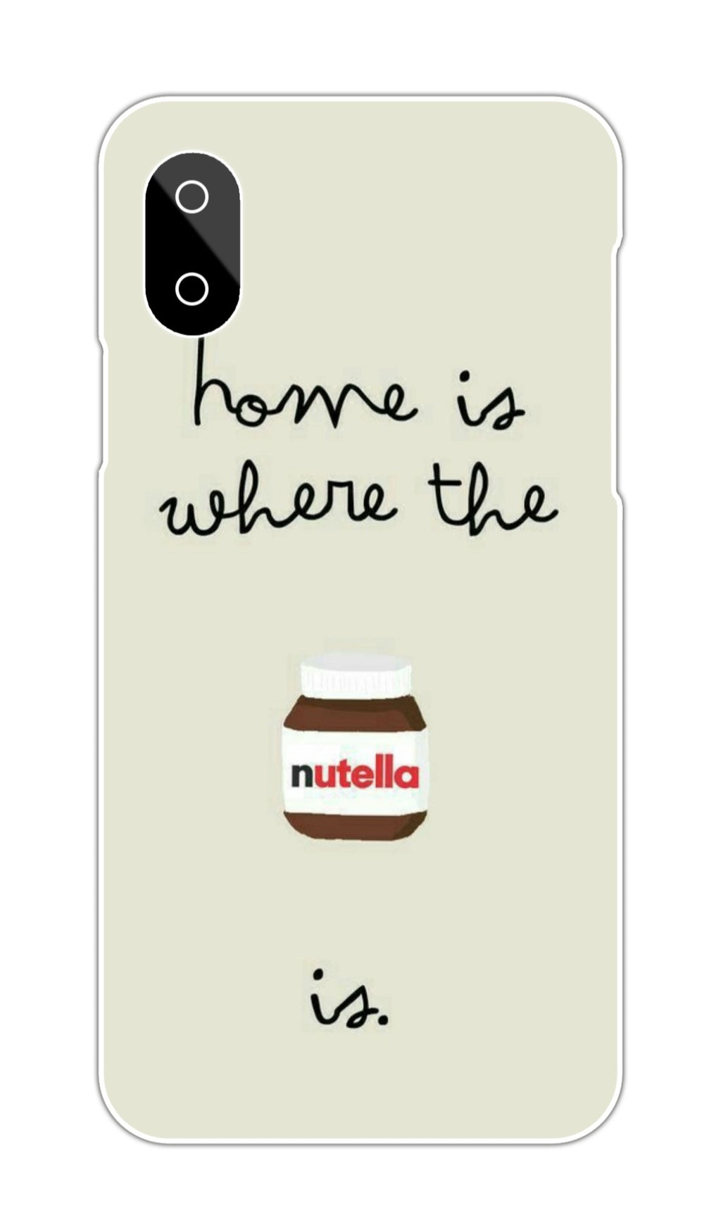 NUTELLA DESIGN CASE