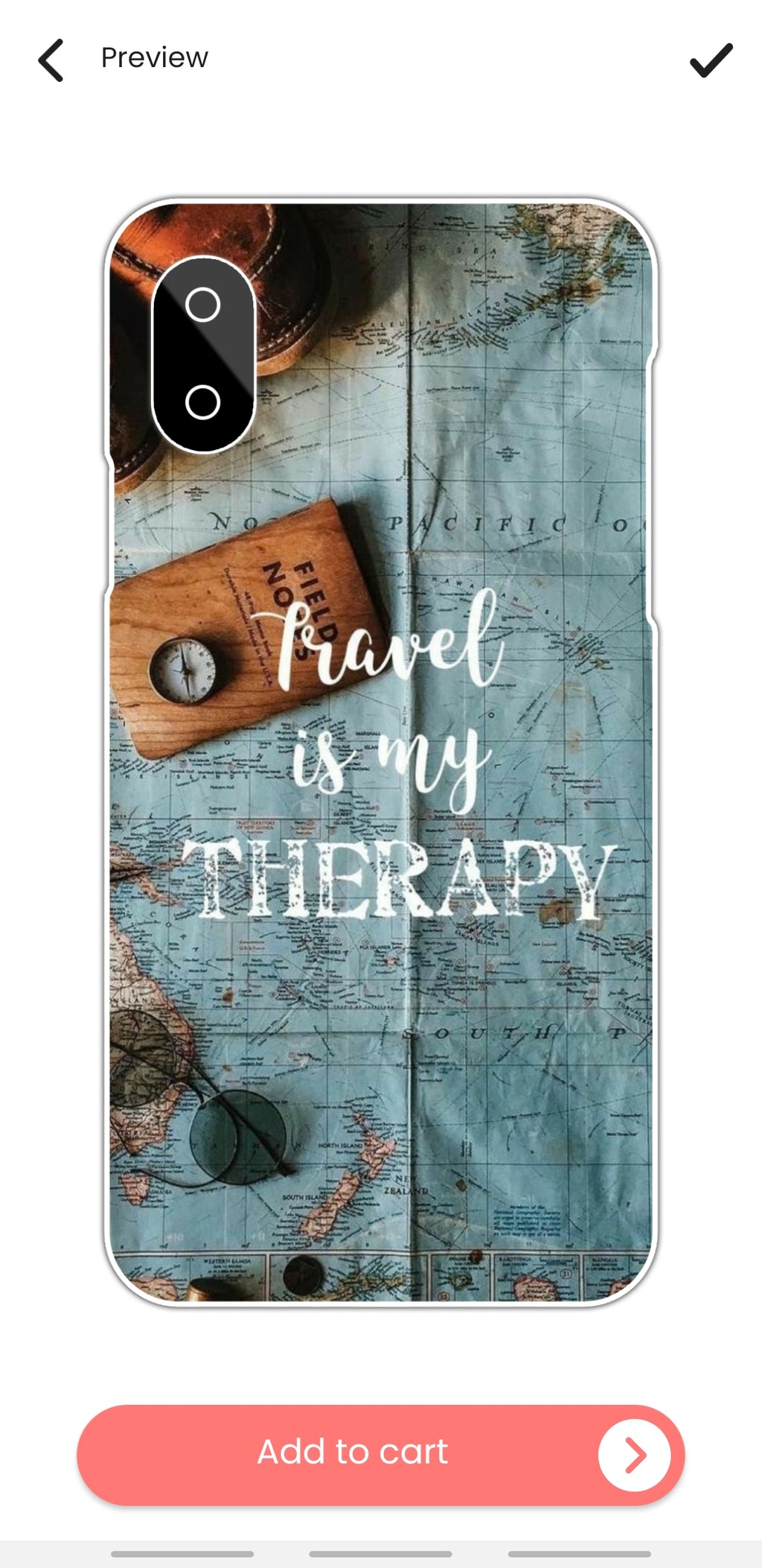 TRAVEL IS MY THERAPY CASE