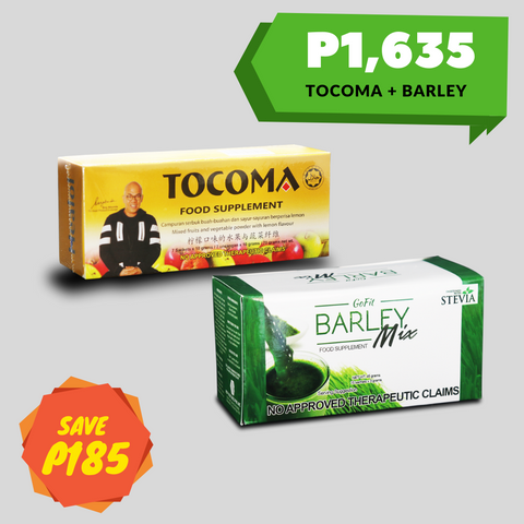 Tocoma + Go fit Barley Mix