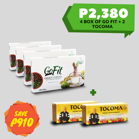 Go Fit Green Coffee + Tocoma