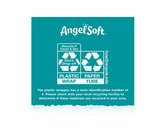 Angel Soft Toilet Paper, 12 Double Rolls, 12 = 24 Regular Rolls, 264 Sheets per roll - Packaging May Vary