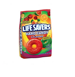 LIFE SAVERS--5 Flavors Hard Candy--Individually Wrapped, Fruity Hard Candy--Cherry, Raspberry, Watermelon, Orange, Pineapple--1-41oz. Bag
