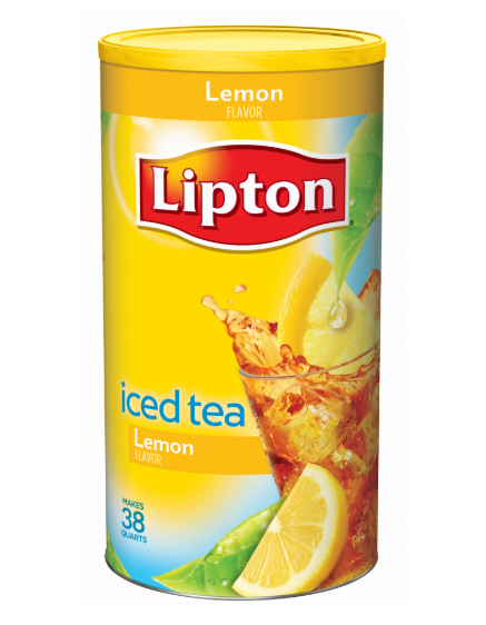 Lipton Lemon Iced Tea Mix, 38 qt.