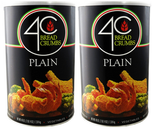 (2 Pack) 4C 46 Oz. Plain Bread Crumbs