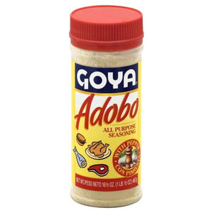Goya Adobo All Purpose Seasoning with Pepper, 16.5 oz