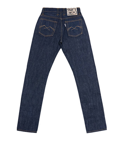 Trekker 14oz Unsanforized Deep Indigo