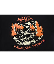 Load image into Gallery viewer, Alaskan Front Tees Black