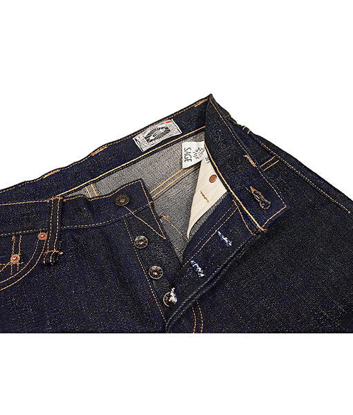 Ranger South 19oz Unsanforized Deep Indigo