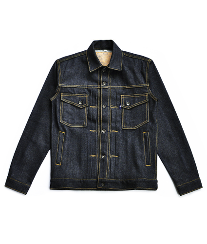 Canine Type II 14oz Deep Indigo Denim Jacket