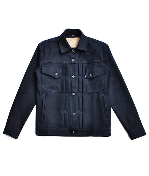 Canine Type II 14oz Indigo x Black Denim Jacket