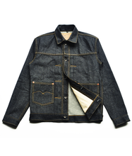 Load image into Gallery viewer, Chaser Type M 14oz Deep Indigo Denim Jacket