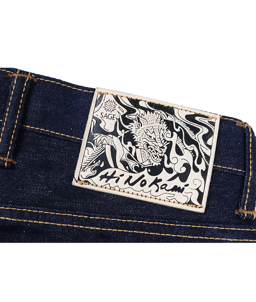 Hinokami 20oz Unsanforized Deep Indigo