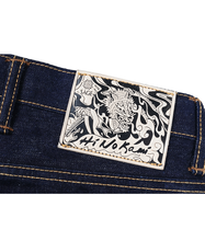 Load image into Gallery viewer, Hinokami 20oz Unsanforized Deep Indigo
