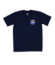 Load image into Gallery viewer, Mountain Conqueror Tees Navy