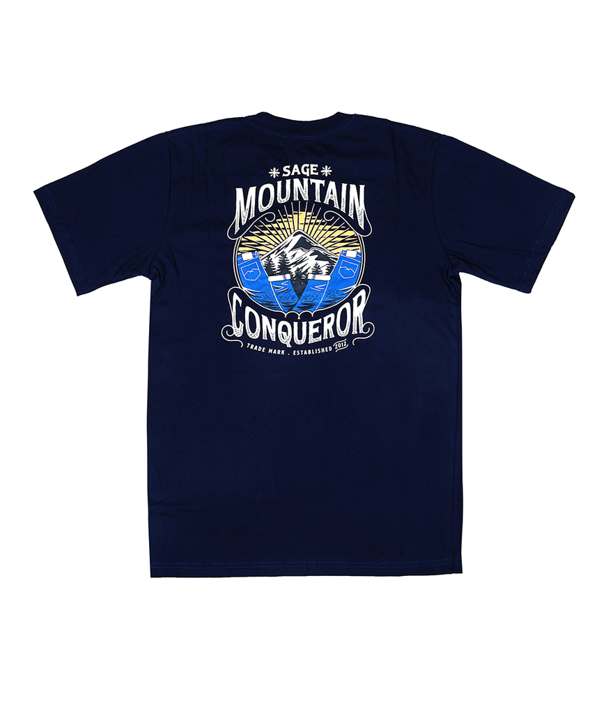 Mountain Conqueror Tees Navy