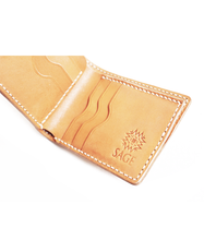 Load image into Gallery viewer, Sage Craftworks – Vernon Bifold Wallet Natural