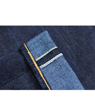 Load image into Gallery viewer, 7th Anniversary Special : River 18oz Unsanforized Deep Indigo x Blue Weft