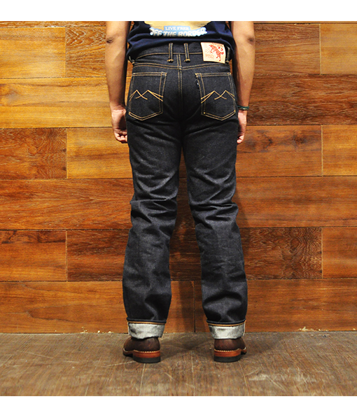 Ranger West 19oz Unsanforized Deep Indigo
