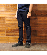 Load image into Gallery viewer, Rover Denim – 14oz Indigo x Black Denim