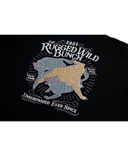 Load image into Gallery viewer, Rugged Wild Bunch Black Tees