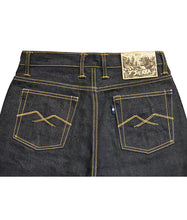 Load image into Gallery viewer, 7th Anniversary Special : Sierra 18oz Unsanforized Deep Indigo x Brown Weft