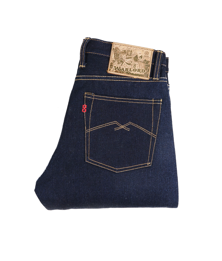 8th Anniversary Special : Warlord 21oz Sanforized Extra Deep Indigo
