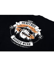 Load image into Gallery viewer, Heritage Tees Black