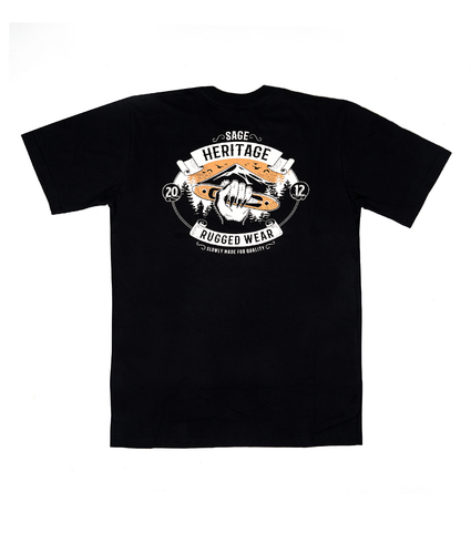 Heritage Tees Black