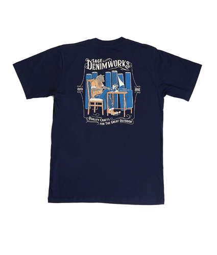 The Denim Works Navy Tees