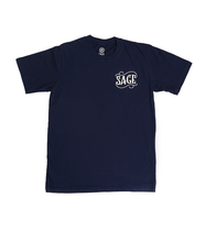 Load image into Gallery viewer, The Denim Works Navy Tees