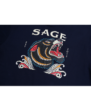 Load image into Gallery viewer, Okami Navy Tees