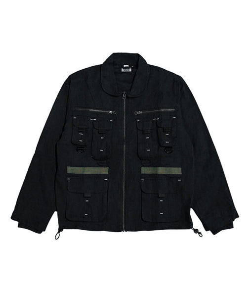 Maverick Military Jacket – Blackout