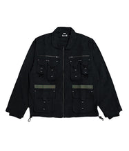 Load image into Gallery viewer, Maverick Military Jacket – Blackout