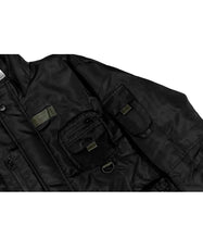 Load image into Gallery viewer, Terran Utility Jacket Blackout