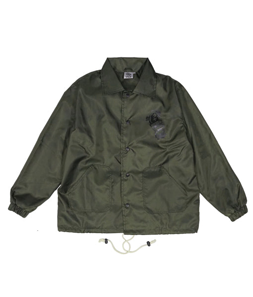 Fati Coach Jacket Military Green