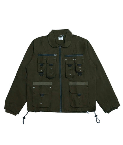 Maverick Military Jacket – Military Green