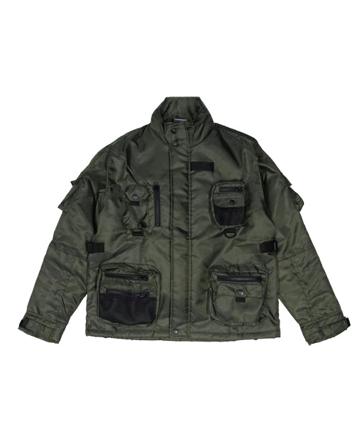 Terran Utility Jacket Military Green