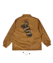 Load image into Gallery viewer, Fati Coach Jacket Camel Brown