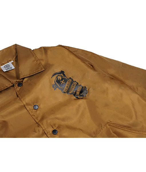 Fati Coach Jacket Camel Brown