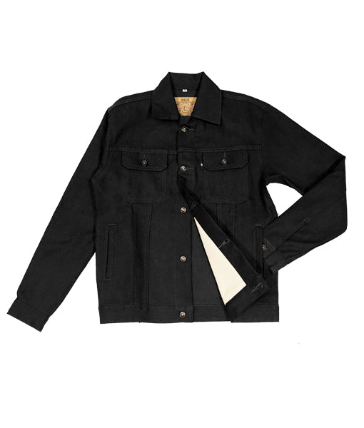 Canine Type III 14oz Indigo x Black Denim Jacket