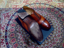 Load image into Gallery viewer, Carlos Santos Captoe Oxford in Braga Patina (Sample Fitting Pair)
