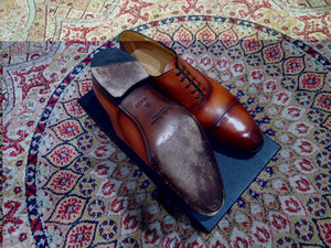 Carlos Santos Captoe Oxford in Braga Patina (Sample Fitting Pair)