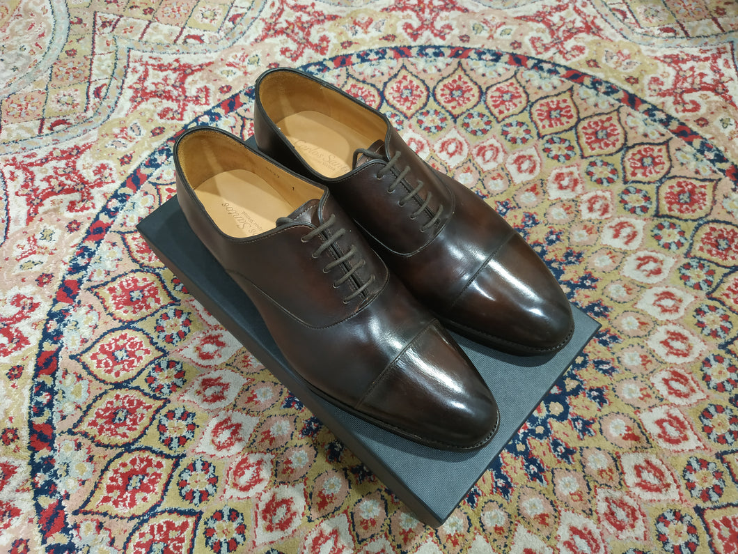 Carlos Santos Captoe Oxford in Coimbra Patina (Sample Fitting Pair)