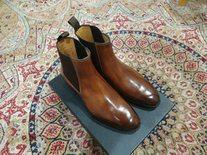 Carlos Santos Chelsea Boots in Algarve Patina (Sample Fitting Pair)