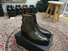 Load image into Gallery viewer, Carlos Santos Jodphur Boots in Bosco Patina (Odd Stock)